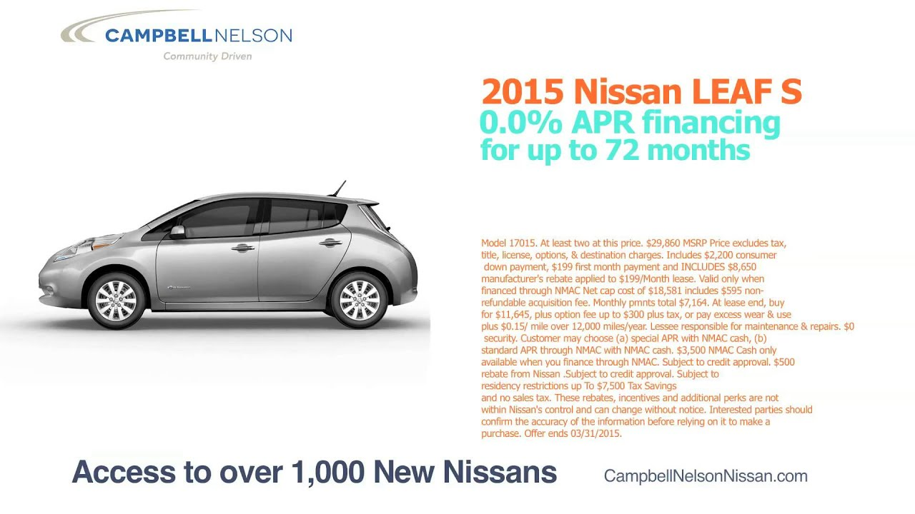 Campbell Nelson Nissan 1232 - YouTube