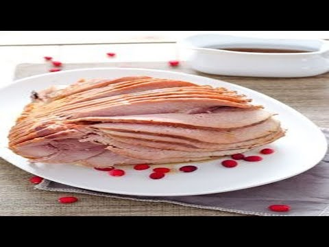 Slow Cooker Ham With Maple Brown Sugar Glaze Recipe – How To Cook Ham With Maple Brown Sugar Glaze