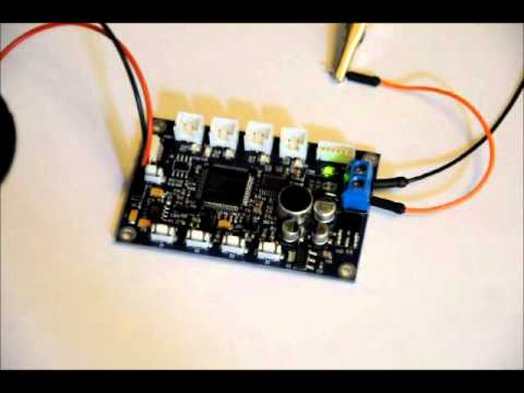 FINALLY! The Stand Alone Voice Recognition Module - ES6928P Demo wmv