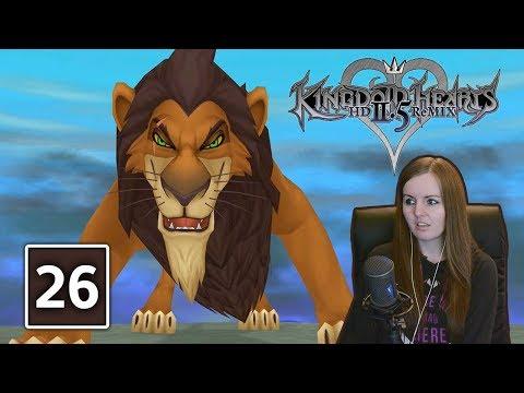 SCAR BOSS FIGHT | Kingdom Hearts 2.5 Final Mix Gameplay Walkthrough Part 26