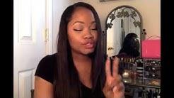 Karida hair Brazilian straight hair human hair review, No tangle, no shedding natural virgin hair