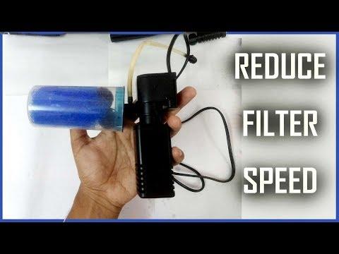 How To Reduce Aquarium Filter Speed | Reduce Water Flow