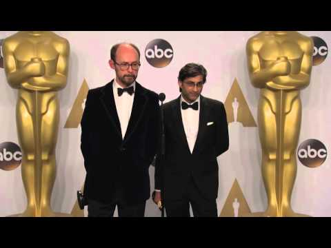 Amy: Asif Kapadia & James Gay-Rees (Best Documentary) Oscars Backstage Interview (2016)