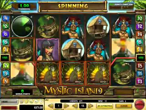 Mystic Island - Gold Club Casino