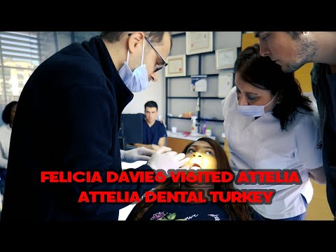 FELICIA DAVIES VISITED ATTELIA | ATTELIA DENTAL TURKEY