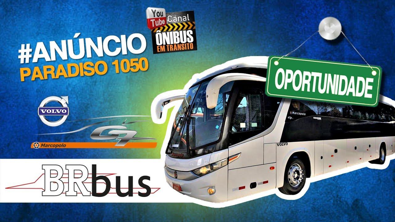 MARCOPOLO PARADISO G7 1050 - VOLVO B9R AUTOMÁTICO À VENDA!!