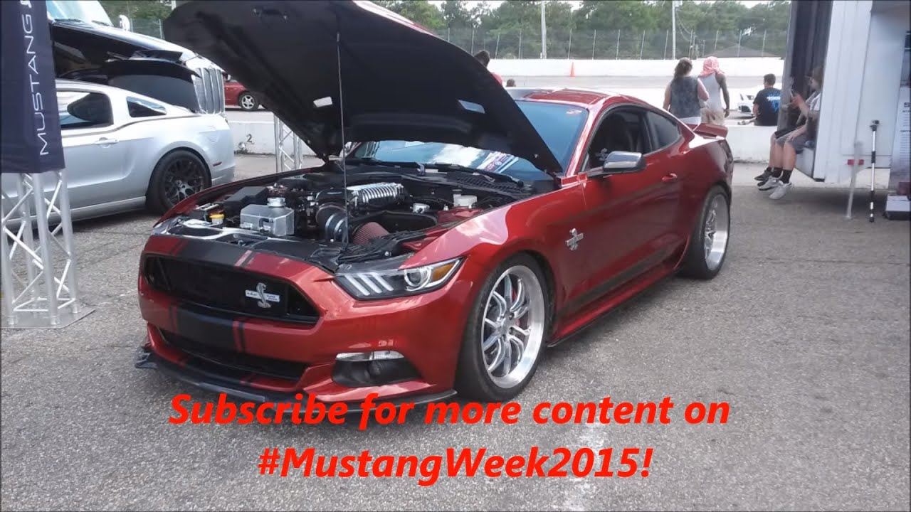 2015 Ford Mustang Shelby Super Snake with 750+HP! - YouTube
