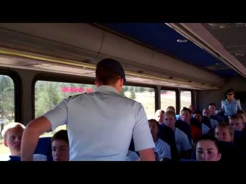 USAFA Class of 2017 Inprocessing (Raw)
