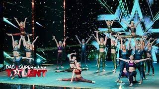 Diese 23 tanzen die Bühne voll| Das Supertalent 2017 | Sendung vom 18.11.2017