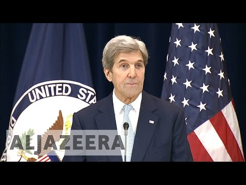US: John Kerry delivers parting shot to Israel over settlements