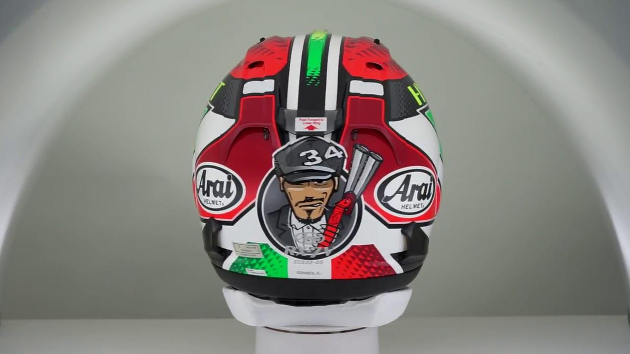 b5e7b5cc Arai RX-7V Giugliano Helmet - buy cheap ▷ FC-Moto