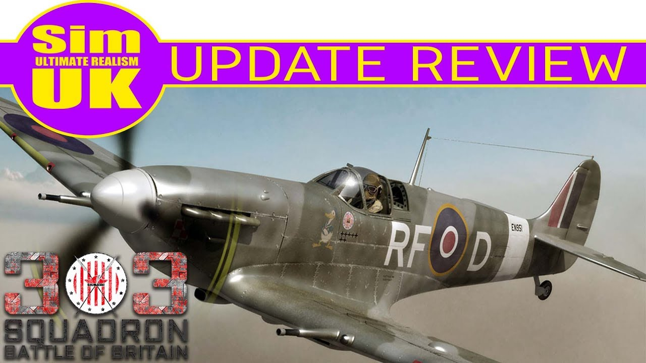 Update 1 2 1 In-Depth REVIEW | 303 Squadron Battle of Britain (Early Access)