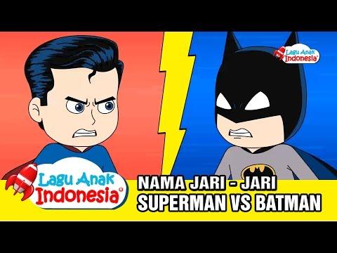 Lagu Nama Jari | Lagu Anak Anak Batman  Vs Superman|  Lagu Anak Indonesia | Finger Family