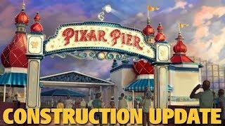 Pixar Pier Construction Update  Disney California Adventure