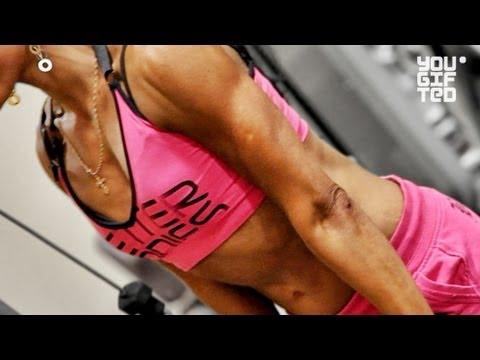 Тренировка на рельеф и форму мышц. Зина Руденко.