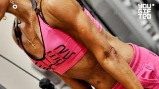 Тренировка на рельеф и форму мышц. Зина Руденко.(Тренировка рук и плеч для рельефа и формы мышц от Зины Руденко. Больше на канале: http://www.youtube.com/yougiftedrussia В..., 2012-10-22T09:50:40.000Z)