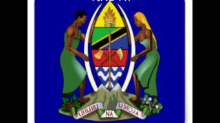 STICKER COAT OF ARMS TANZANIA
