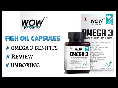 WOW OMEGA 3 FISH OIL REVIEW & UNBOXING