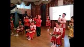 Оркестр в детском саду(Фестиваль детского творчества