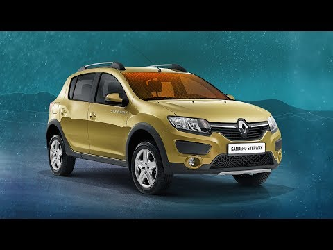 Renault Sandero Stepway Eva коврики в салон с бортиками и 3D Evabel.ru
