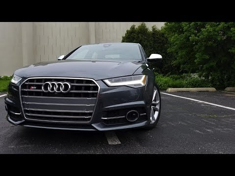 2017 Audi S6: A Luxury Sports Sedan with  the Emphasis on Luxury