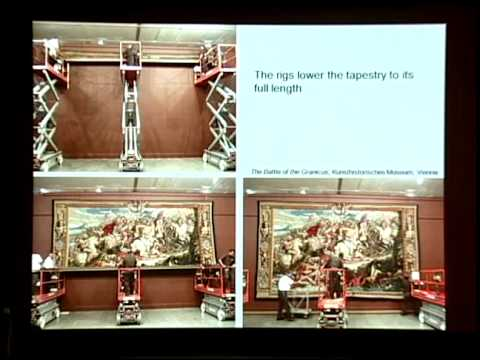 Installing Tapestry Exhibitions at The Met