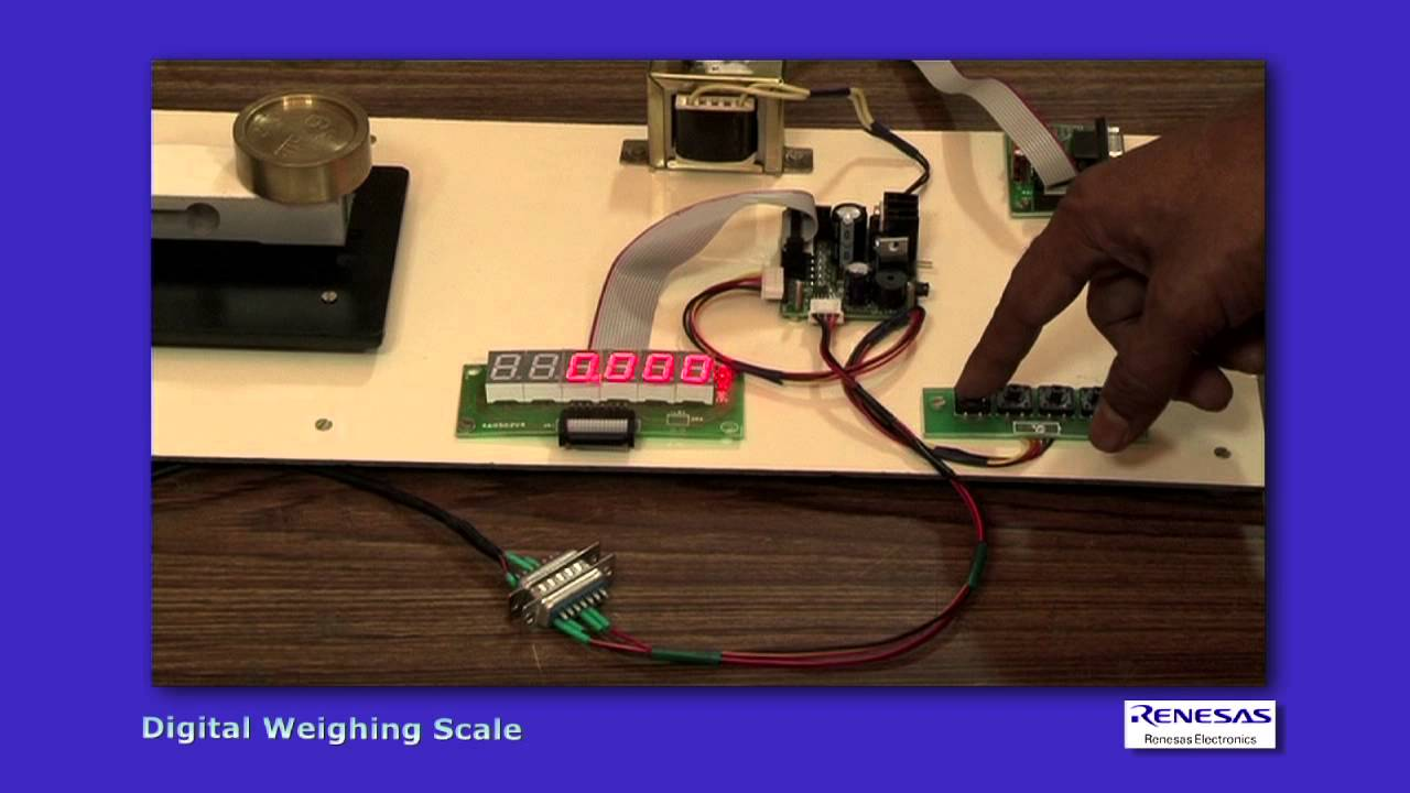 Digital Weighing Scale Youtube Electronic Welding Machine Circuit Diagram Pdf