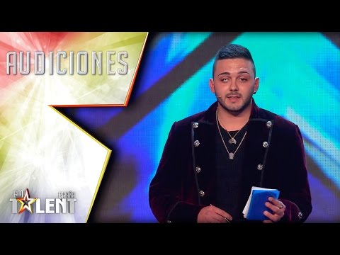 Mentalismo puro. Eric consigue leer la mente al jurado | Audiciones 7 | Got Talent España 2017 videó letöltés