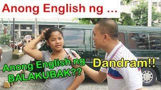 ANONG ENGLISH NG ... (Game)