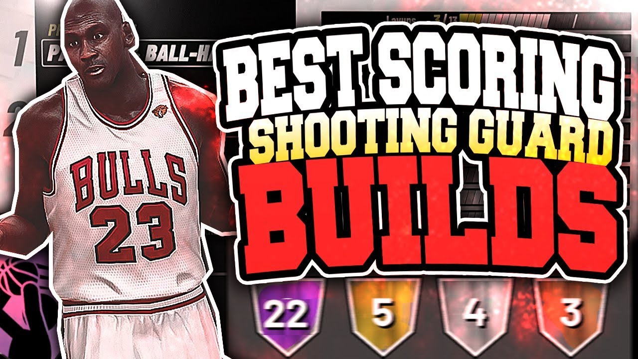 TOP 3 GAME BREAKING SHOOTING GUARD BUILDS IN NBA2K19! ULTIMATE MICHAEL  JORDAN BUILD! (SHOT CREATOR)