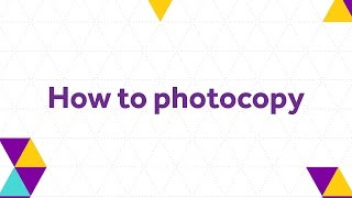 How to photocopy - The University of Manchester Library