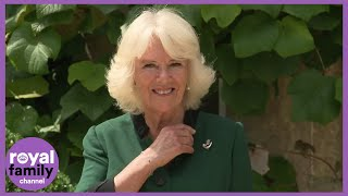 Camilla, Duchess of Cornwall, Receives New Military Role at Highgrove Ceremony