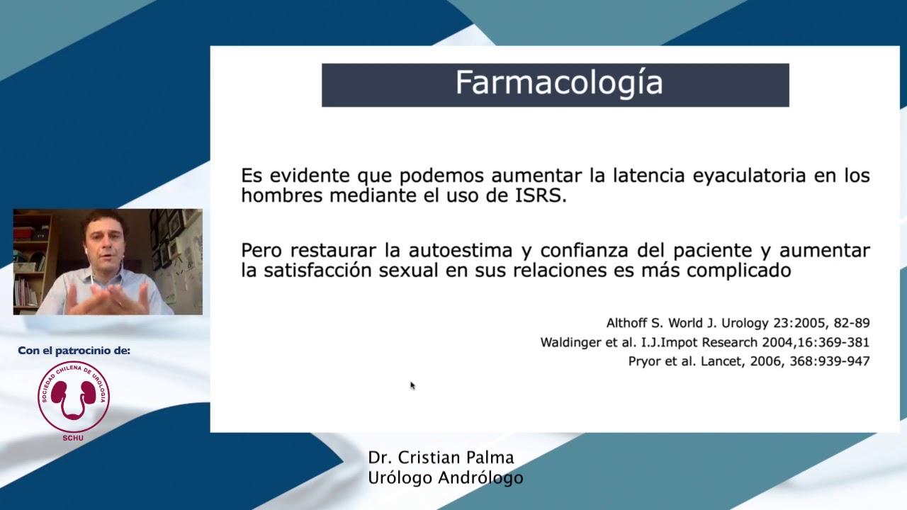 ¿Es suficiente el uso de fármacos para el tratamiento de Eyaculación Precoz?
