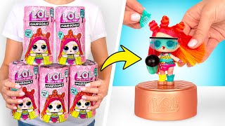 UNBOXING Boneka L.O.L. Surprise Hairgoals Seri Makeover