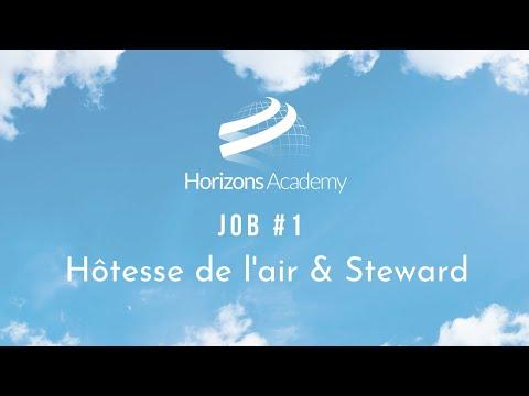 JOB #1 - HÔTESSE DE L'AIR & STEWARD