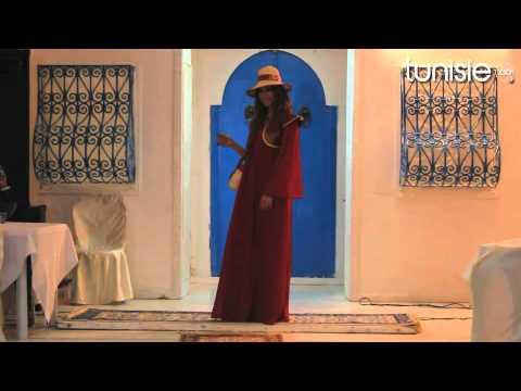 Défilé de mode aux journées du patrimoine et de l'artisanat Tunis 2012
