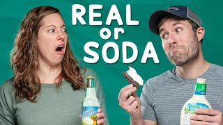Would You Eat Apple Pie with Bacon? | Real vs Soda Challenge #2