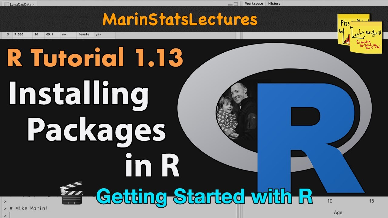 How to Install Packages in R | R Tutorial 1 13 | MarinStatsLectures