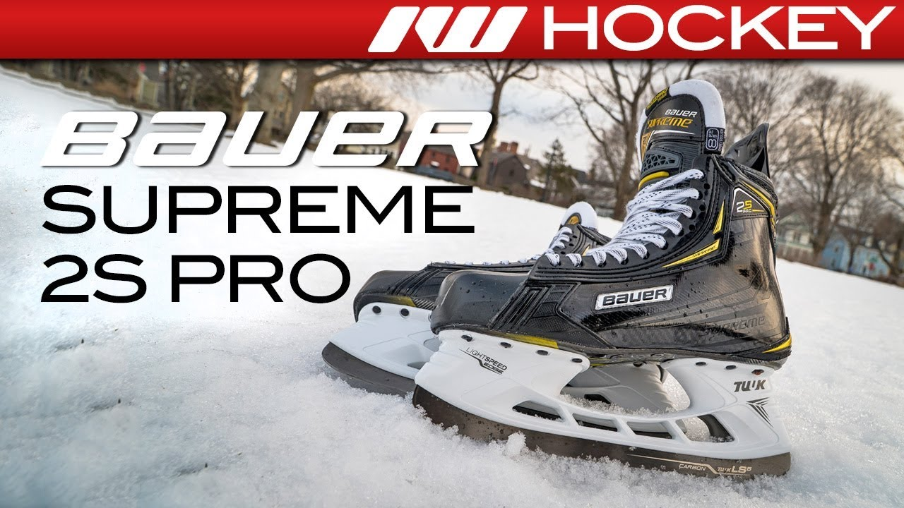 03beceba2cf Bauer Supreme 2S Pro Skate    On-Ice Review - YouTube