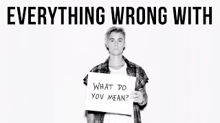 """Video Everything Wrong With Justin Bieber - """"What Do You Mean"""" download MP3, 3GP, MP4, WEBM, AVI, FLV Maret 2018"""