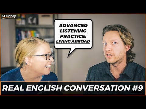 An English Conversation about Living Abroad (with Subtitles!