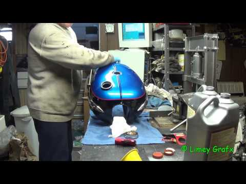 Derusting A Motorcycle Gas Tank With Evapo-Rust