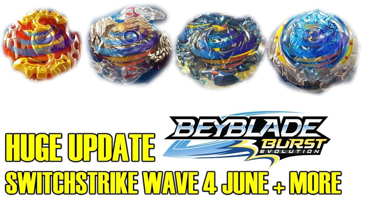 Huge Product Update Switchstrike Wave 4 More Beyblade Burst