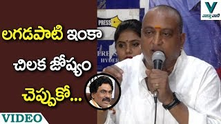 Prudhvi Raj Sensational Comments on Lagadapati Rajagopal - Vaartha Vaani