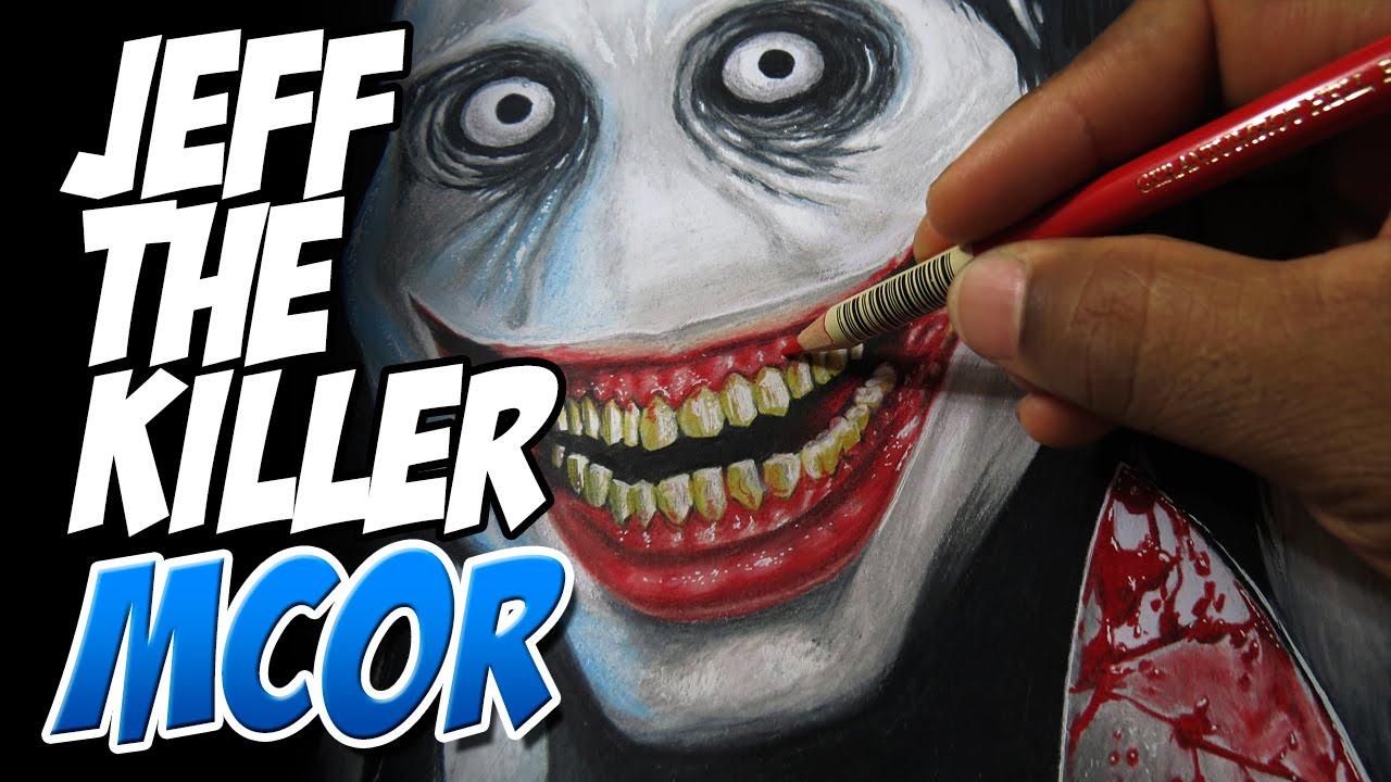 Dibujando a Jeff the Killer  Creepypasta  YouTube