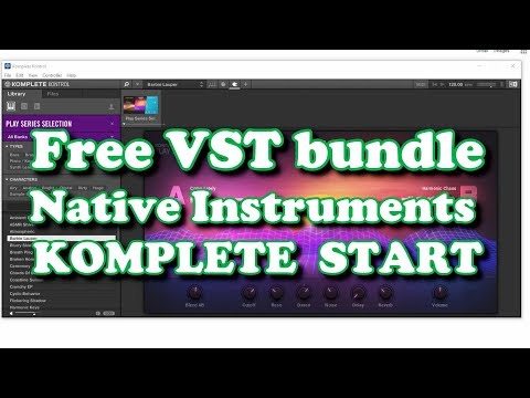 Free VST Bundle - Native Instruments KOMPLETE START (2019)
