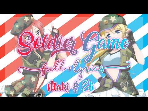 Love Live! Soldier Game Full + Lyrics Maki & Eli Mix