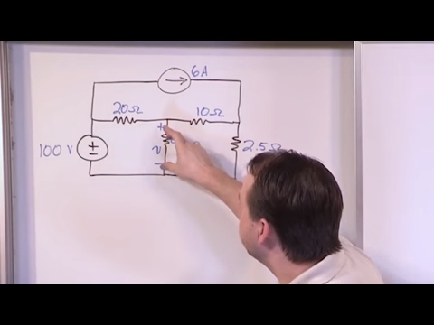 Lesson 18 - Superposition In Circuits, Part 1 (Engineering Circuits)