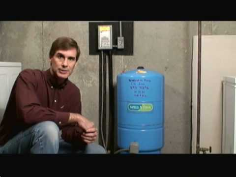 Pressure Tanks And Private Well Systems Video Youtube
