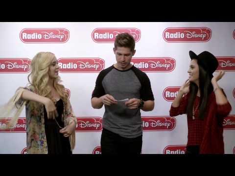 Megan & Liz Celebrity Take Twin Challenge | Radio Disney